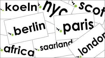 From New York to Berlino, the new domains are circling the globe!